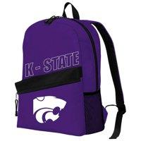 "NCAA Kansas State Wildcats ""Crossline"" Backpack, 16.5"" x 6"" x 12"""