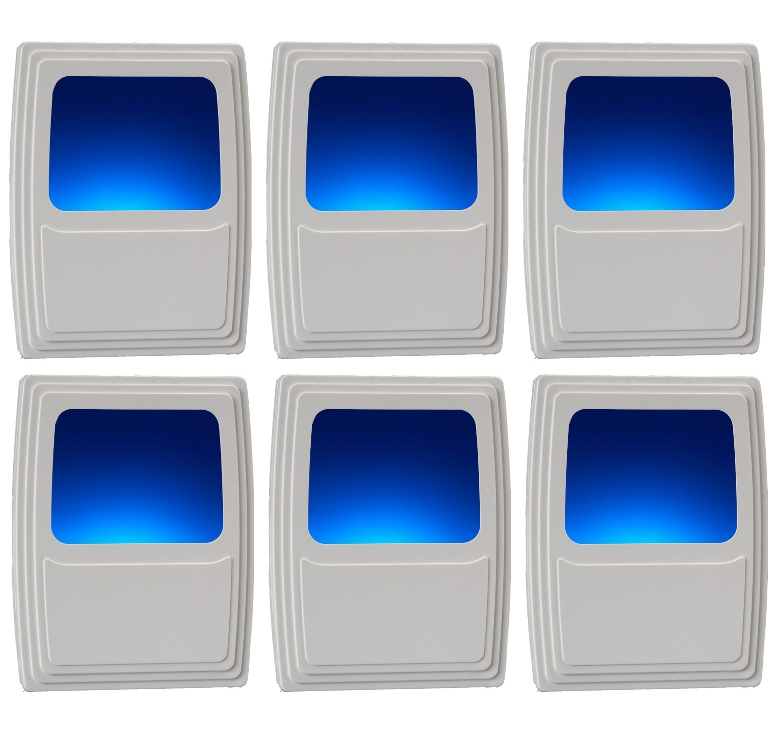 Amerelle 71083 LED Forever-Glo Blue Continuous On Nite Lite, 3-Pack