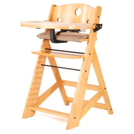 (Keekaroo Height Right High Chair with Tray - Natural)