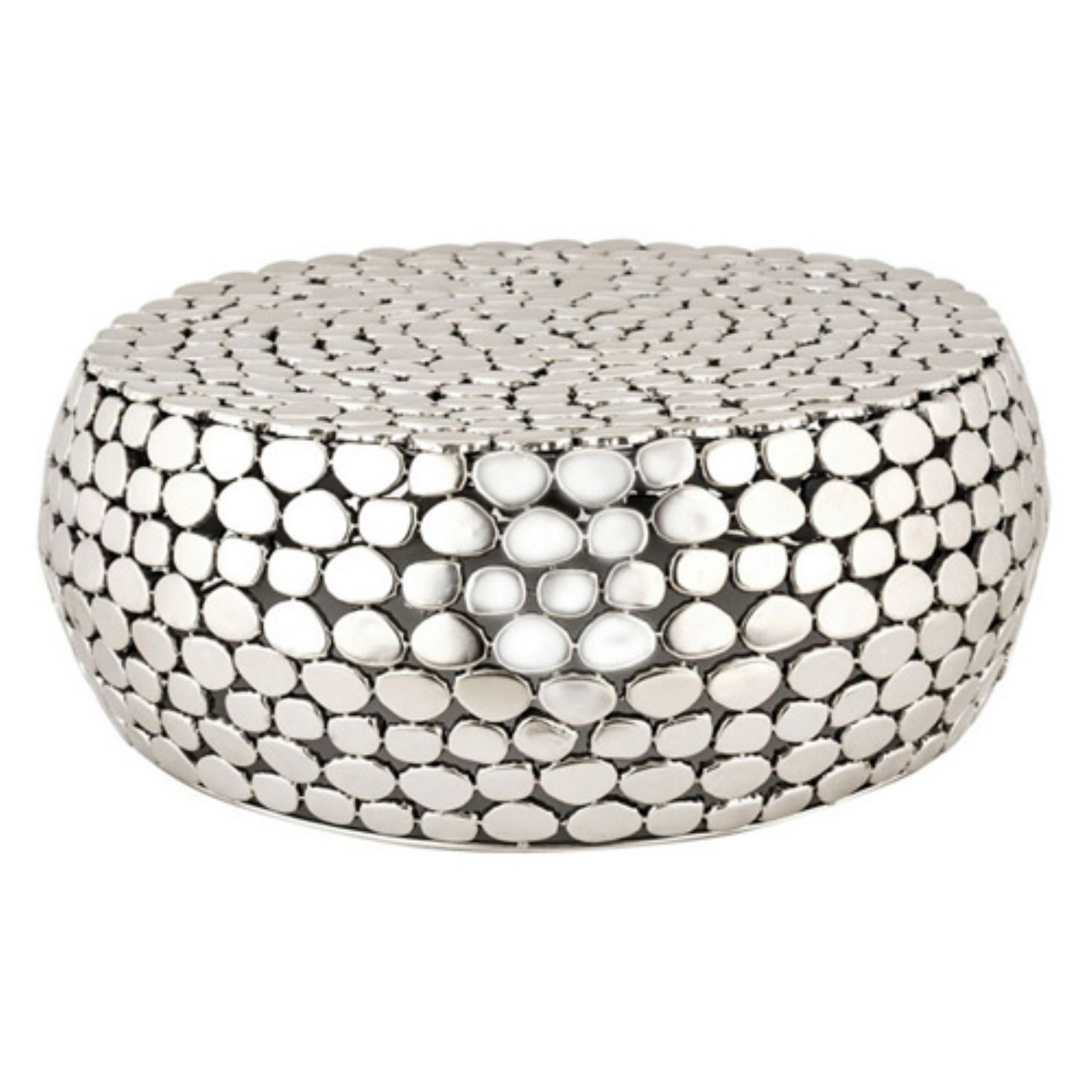 Dimond Home Round Pebble Coffee Table