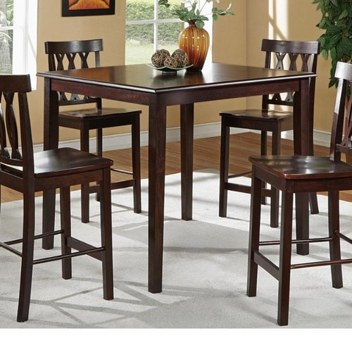 Charlton Home Ruck 5 Piece Counter Height Dining Set