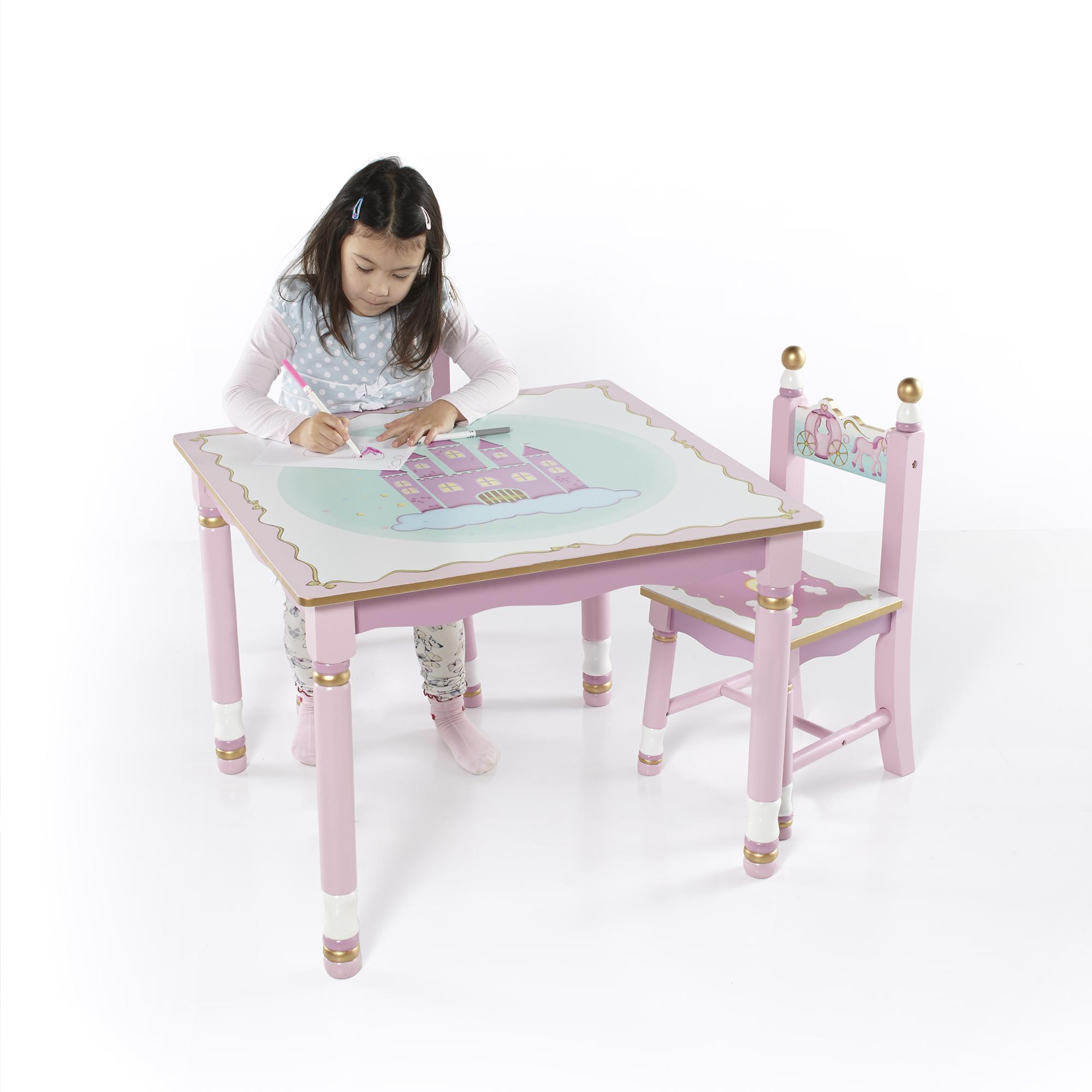 Princess Table and Chairs Set - Walmart.com