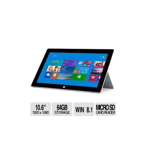 Microsoft Surface 2 Tablet - 10.6 Screen 1920X1080, MULTI...