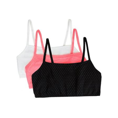 Women's Tank Style Sports Bra, 3-Pack, Style