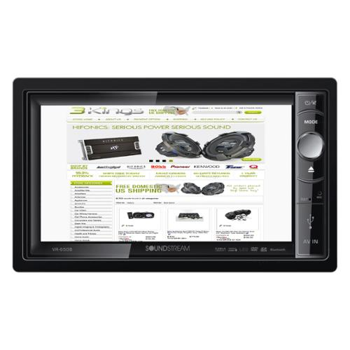 Soundstream VR-650B 6.5-Inch Multimedia Double Din Car St...