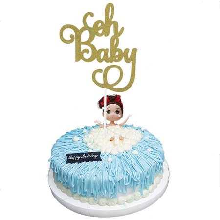 oh baby cake topper baby shower birthday party decoration