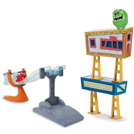 Angry Birds Sling and Smash Track Set (Angry Birds Halloween 1-5 Eagle)