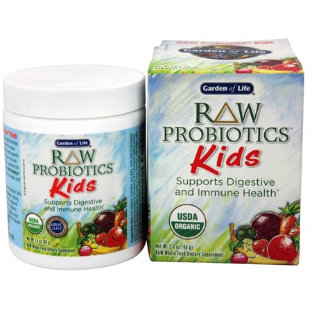 Garden of life raw probiotics kids 34 oz walmartcom for Garden of life raw probiotics review