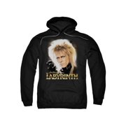 Labyrinth 1980's Movie Jim Henson David Bowie areth Adult Pull-Over Hoodie