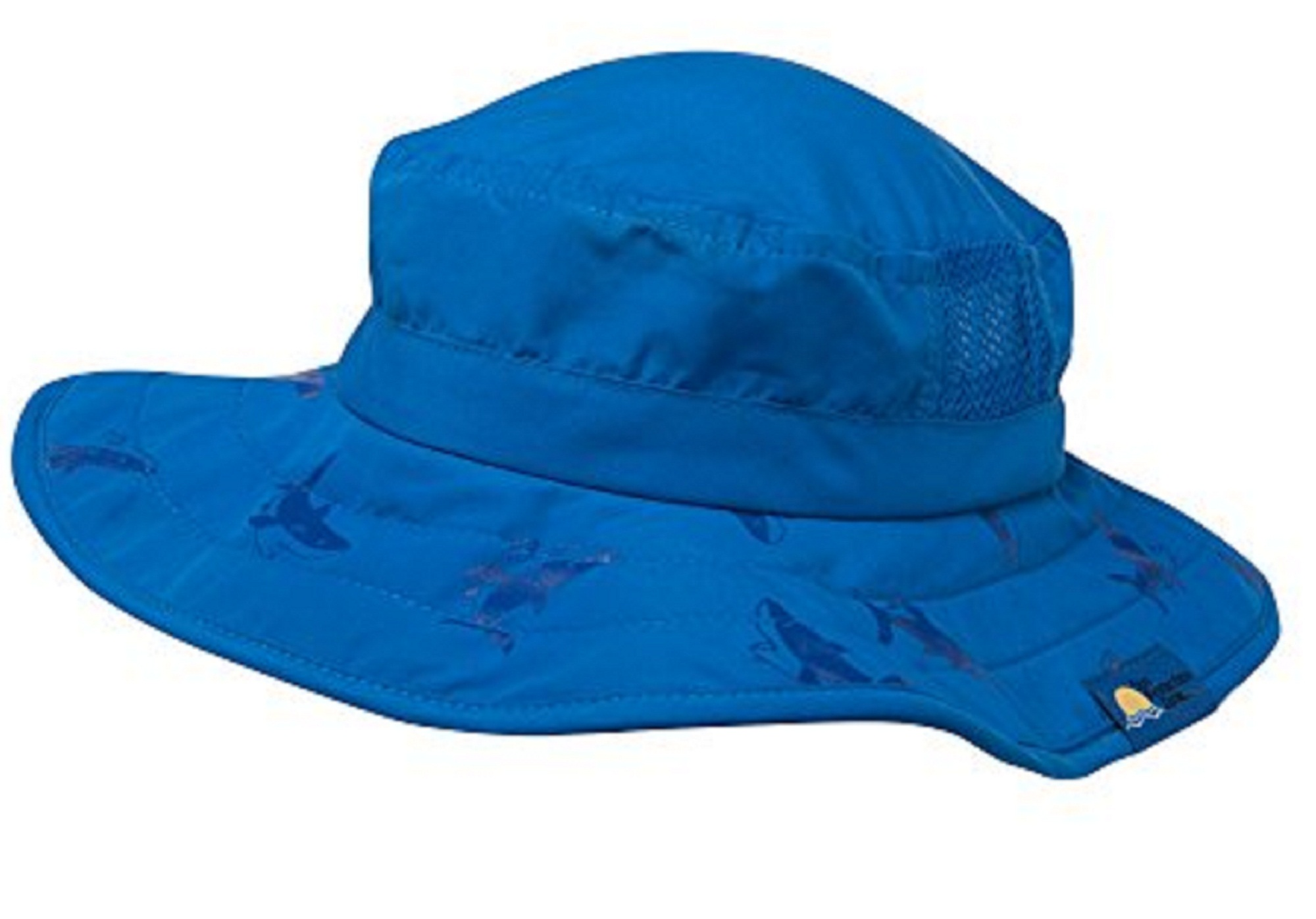 ebb31590145 Sun Protection Zone - Kids UPF 50+ Safari Sun Hat - Blue Shark - Walmart.com