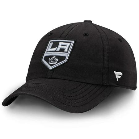 - Los Angeles Kings Fundamental Adjustable Hat - Black - OSFA