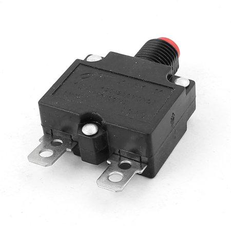 AC 125V 250V 15A 10mm Thread Circuit Breaker Overload Protector - image 1 of 3
