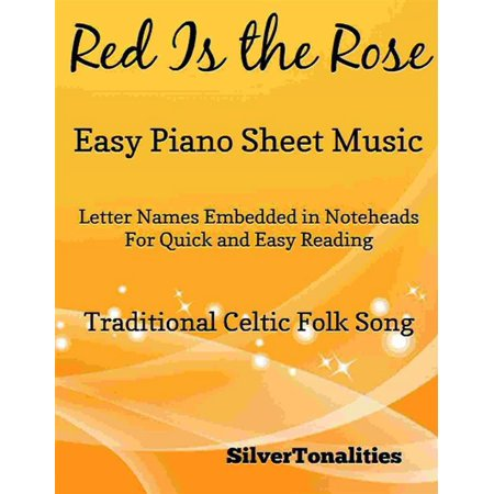 Red Is the Rose Easy Piano Sheet Music - eBook - This Is Halloween Sheet Music Piano Easy