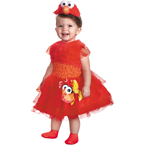 Frilly Elmo Toddler Halloween Costume by Generic