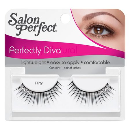 Salon perfect eyelash flirty black for Hair salon perfect first essential