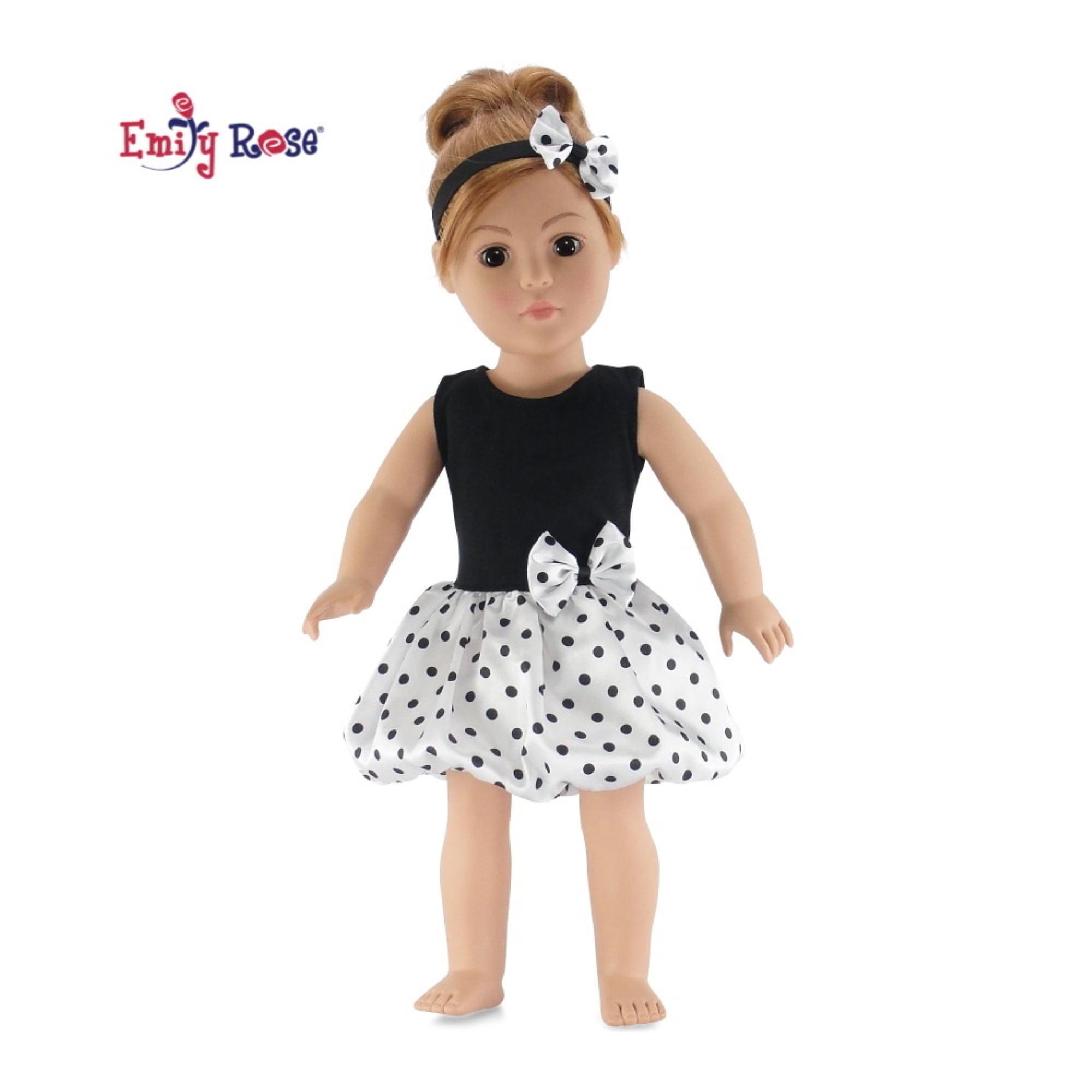 Doll Polka Dot Tights Set of 3 Polka Dot Tights For 18 inch Dolls