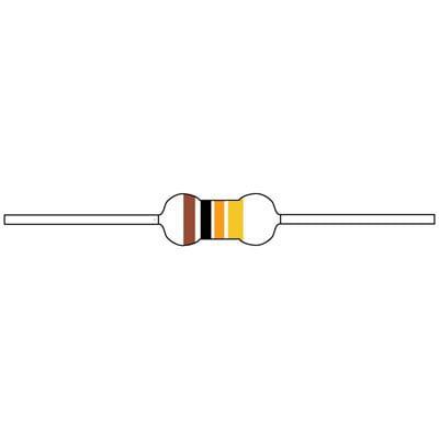 Details about  /4 Pcs. carbon film resistors 1,2 Ohm 2W 5/% resistance Beyschlag NOS-  show original title