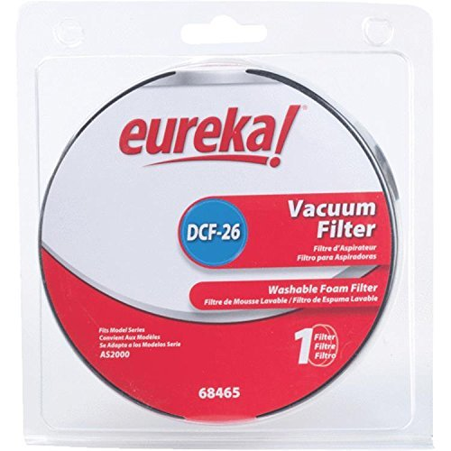 Eureka Airspeed DCF-26 Washable Dust Cup Filter 1 Only # 68465A,68465A-2,68465-2,68465.
