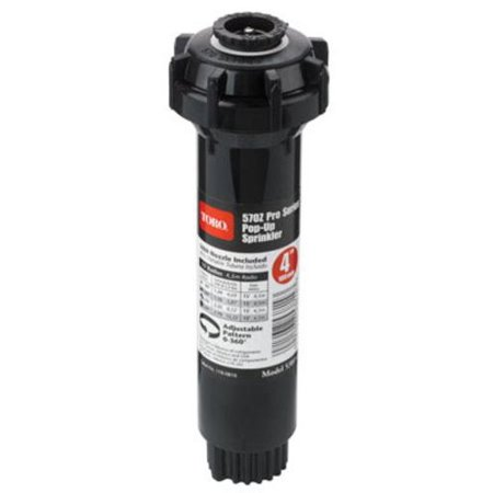 Toro 53814 Pop-Up Sprinkler With Adjustable Nozzle, (Toro Sprinkler Nozzles)