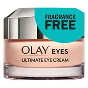 Olay Ultimate Eye Cream for Wrinkles, Puffy Eyes, Dark Circles, 0.4 oz