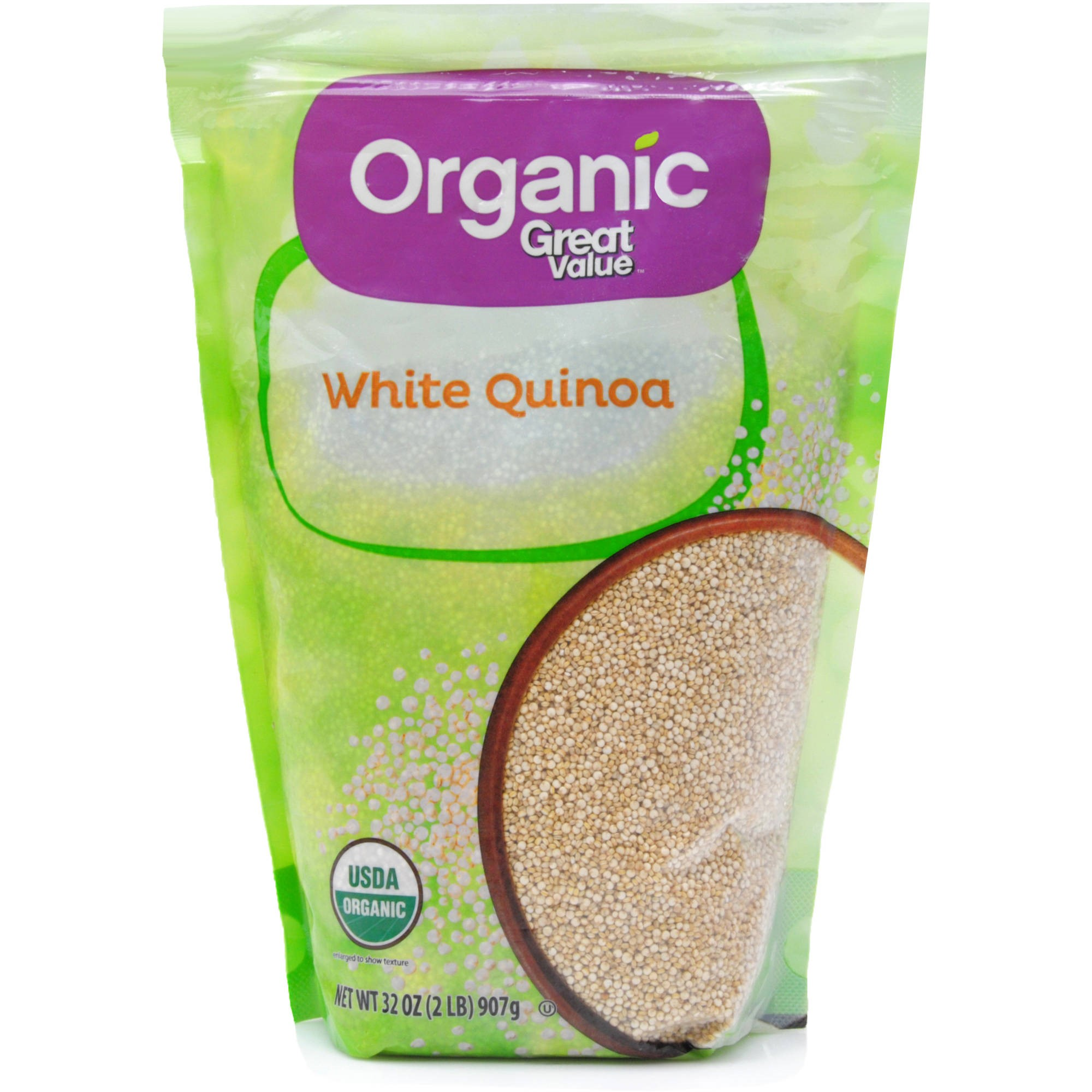 Great Value Organic White Quinoa, 32 oz