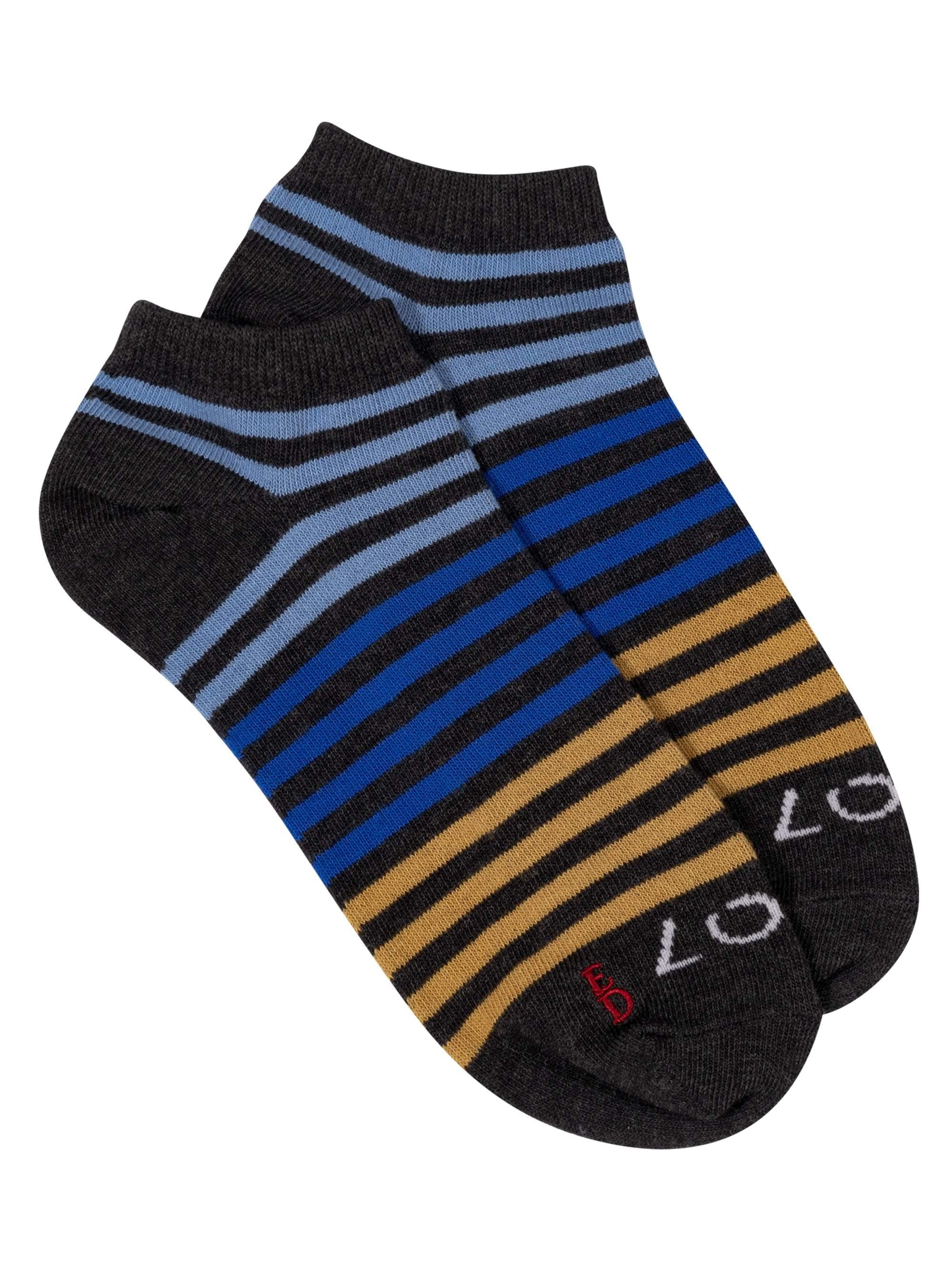 Women's Multi Stripe Low Cut Socks