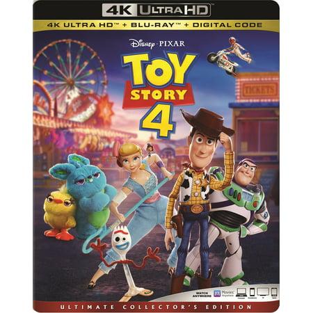 Toy Story 4 (4K Ultra HD + Blu-ray + Digital Copy) (Toy Story 4 Movie)
