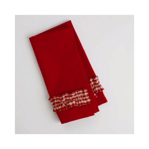 TAG Chalet Woodlands Gingham Napkin (Set of 4)