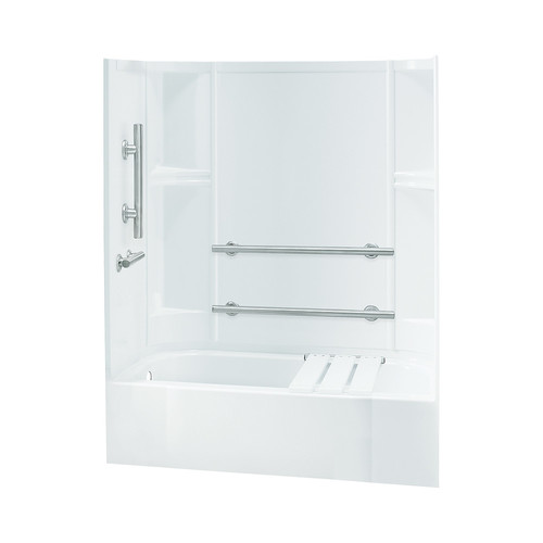 Sterling by Kohler Accord Smooth Series ADA Bath/Shower Kit with Left Hand Drain