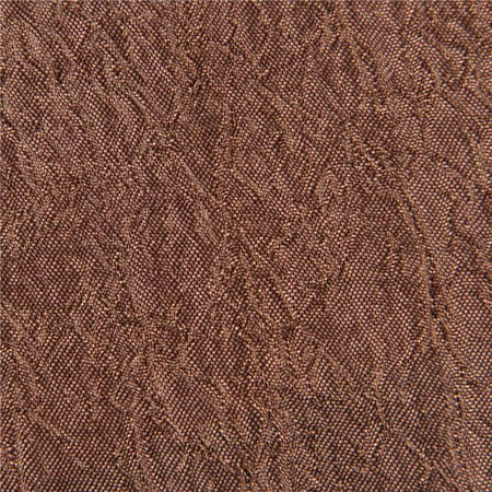 Crushed Tergalet - Brown Decorative Fabric 25 yards Roll - 106 in. - image 1 de 1