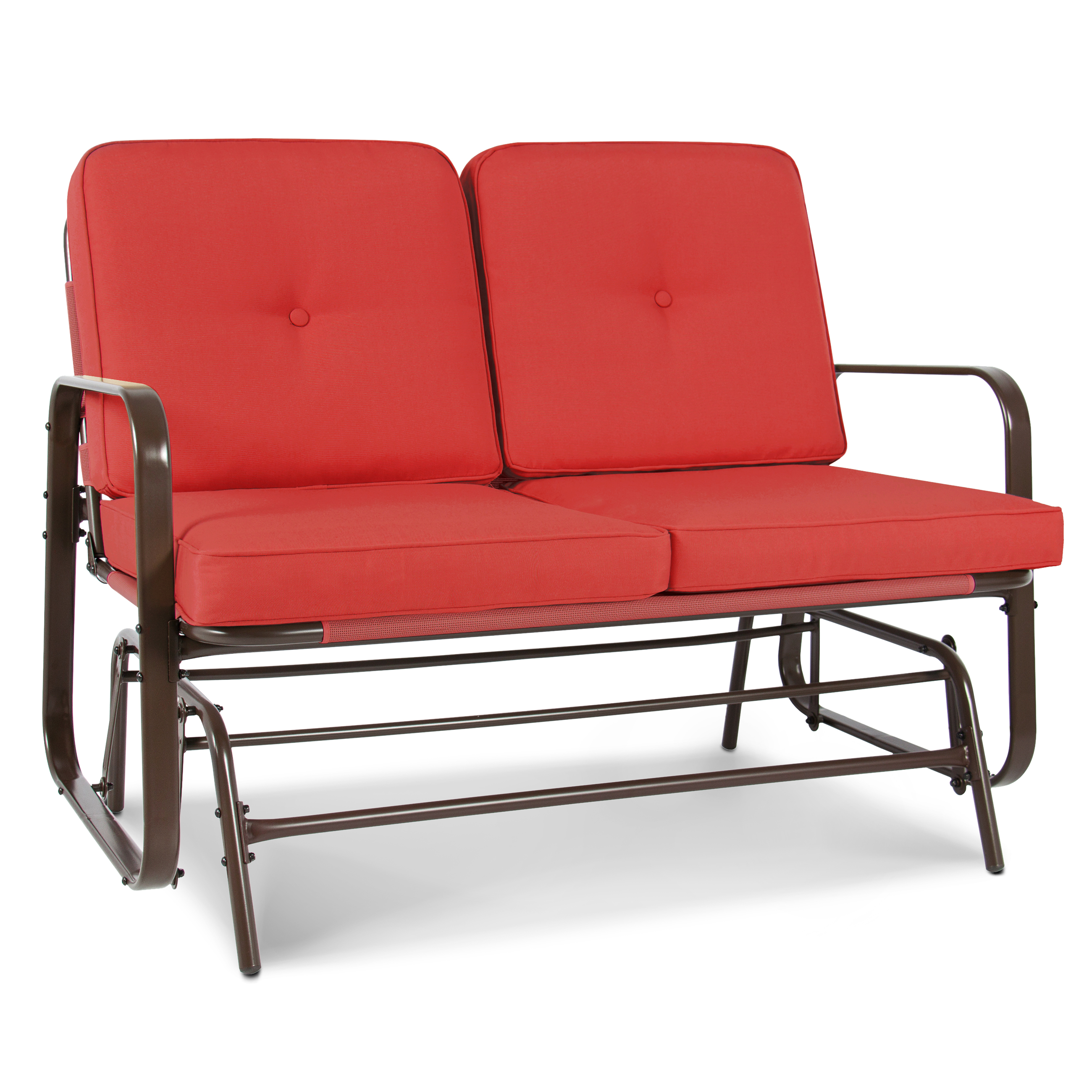 Best Choice Products 2 Person Loveseat Glider Rocking Cha...