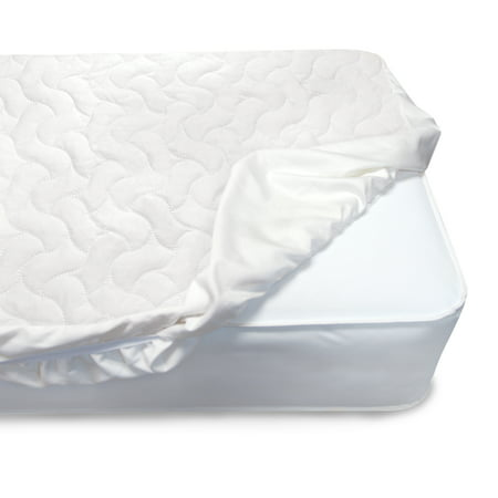 Serta Sertapedic Crib Mattress Pad Cover/Protector with Nanotex Stain Repel and Release (Serta Heated Mattress Pad)