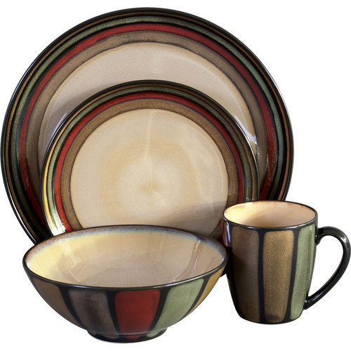 Sango Flair 16 Piece Dinnerware Set