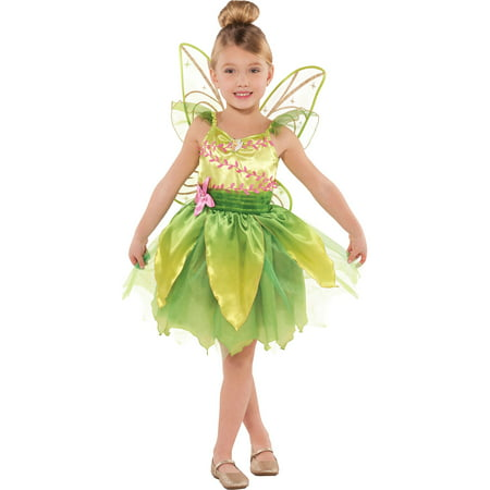 Suit Yourself Classic Tinkerbell Halloween Costume for Toddler Girls, Includes Wings](Halloween Your Name)