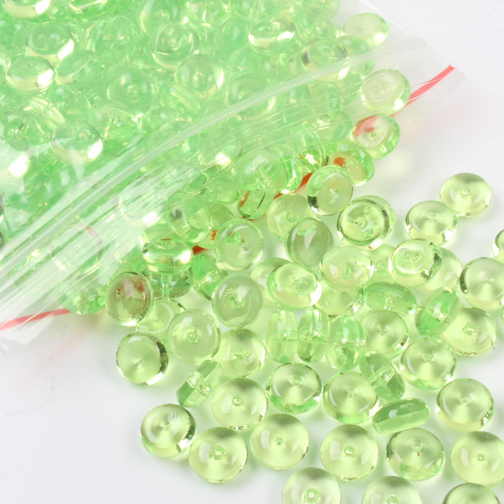 Mosunx Fishbowl Beads Colorful Beads for Crunchy Homemade Slime DIY Crafts Party GN