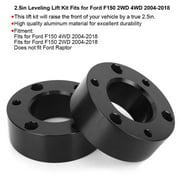YLSHRF 2.5in Leveling Lift Kit Black Car Accessory Fits for Ford F150 2WD 4WD 2004-2018, 2.5in Leveling Lift Kit, Leveling Lift Kit for Ford