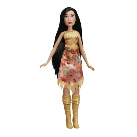 DISNEY PRINCESS POCAHONTAS ROYAL SHIMMER FASHION DOL - Pochahontas Dress