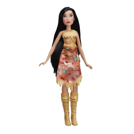 DISNEY PRINCESS POCAHONTAS ROYAL SHIMMER FASHION DOL - Pocahontas Dress