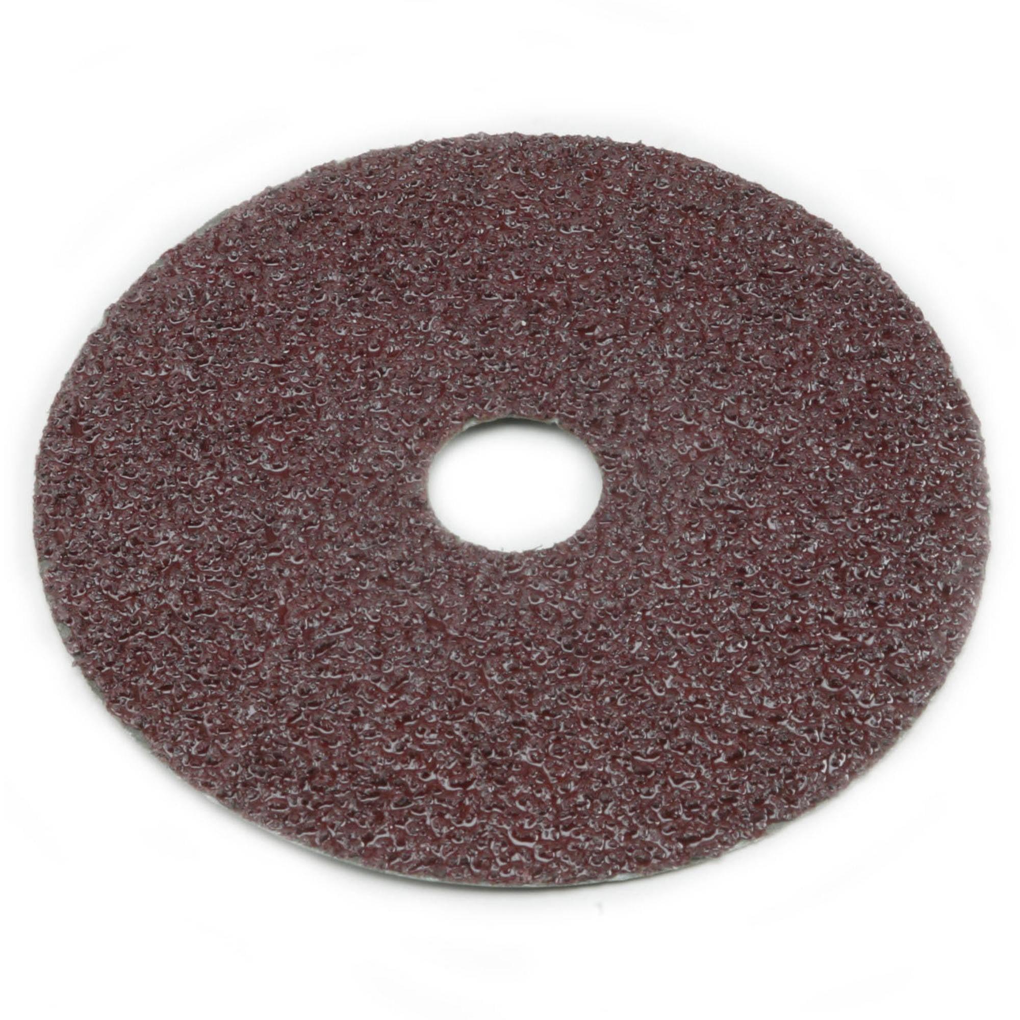 25-Pack Sungold Abrasives 16908 4-1//2 X 7//8 Center Hole 120 Grit Aluminum Oxide Fiber Disc