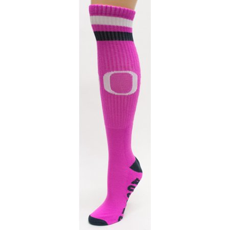 Oregon Ducks Pink Tube Socks - Oregon Duck Shop