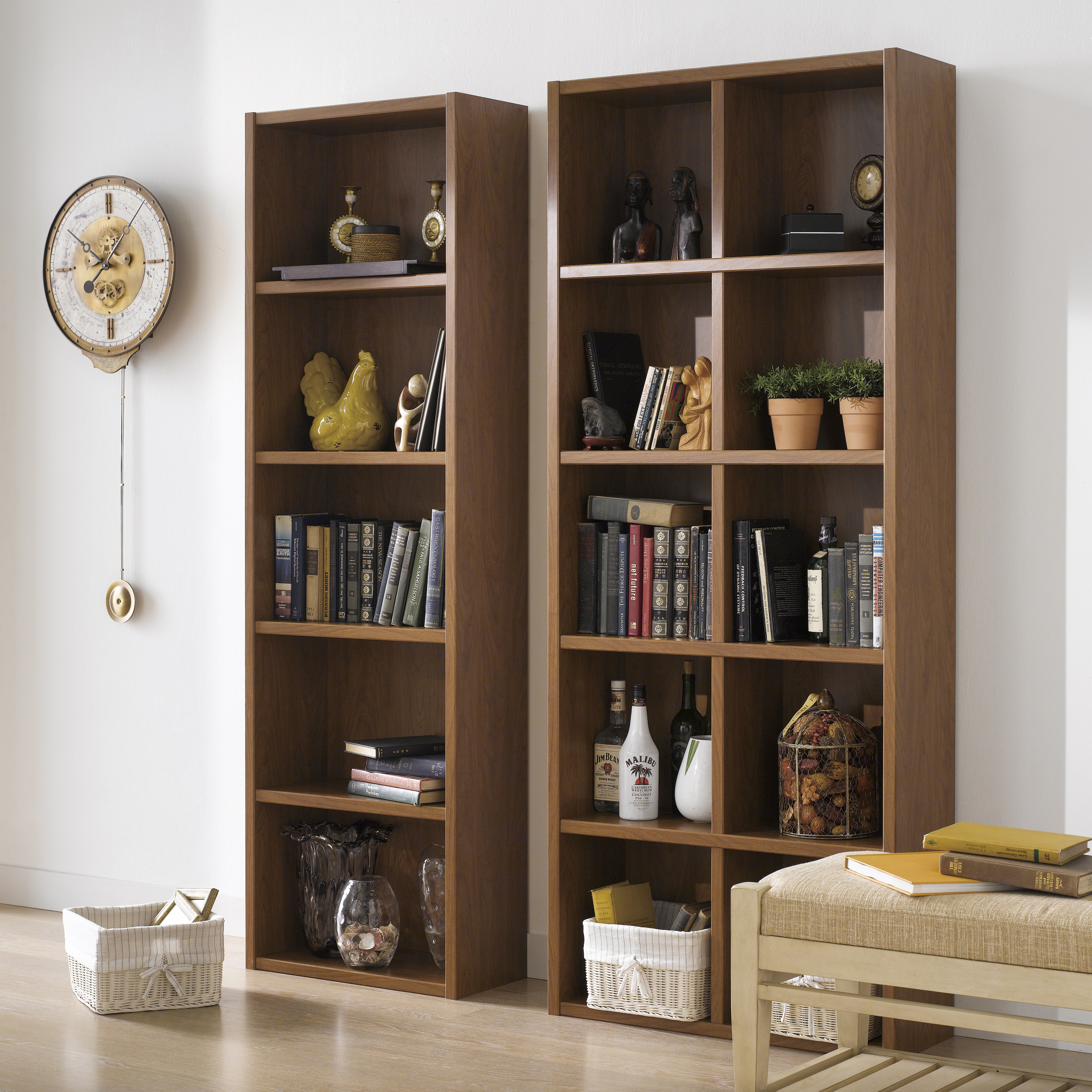 Boraam Ind. Techny Collection Calder Bookcase