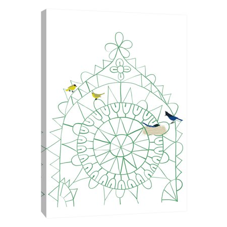 PTM Images,Birds In Lace, 16x20, Decorative Canvas Wall Art ...