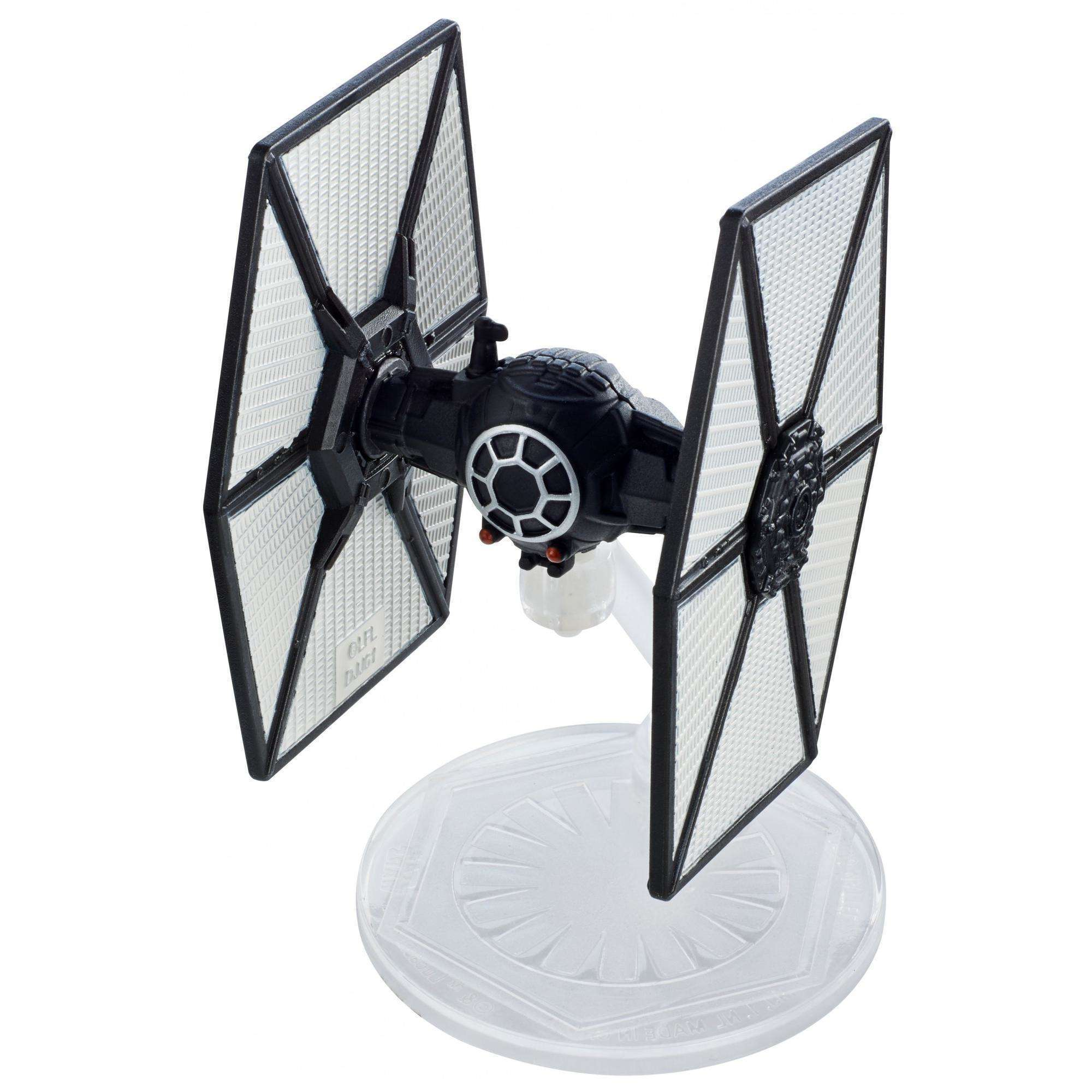 Hot Wheels Star Wars: The Last Jedi First Order TIE Fighter, Starship