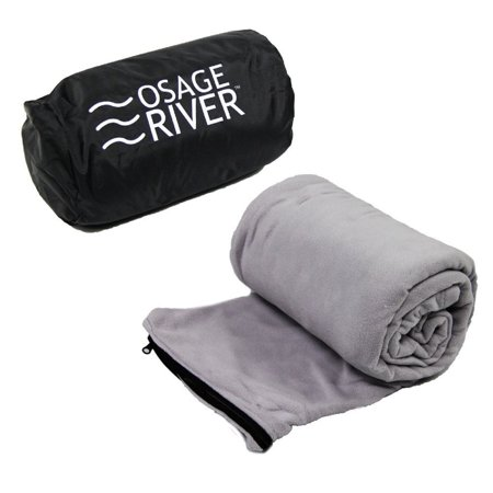 - Osage River Microfiber Fleece Sleeping Bag Liner - Grey