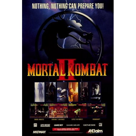 Mortal Kombat (VG) Movie Poster Print (27 x 40) (Mortal Kombat Movie Poster)