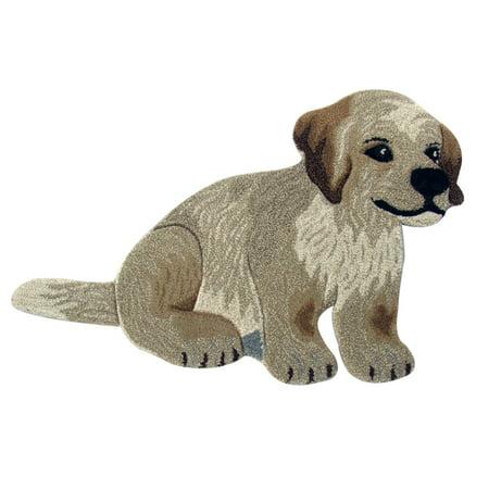 Viana Puppy Dog Wool Rug