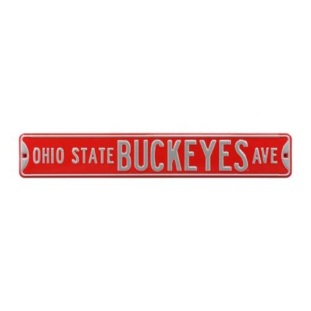Ohio State Buckeyes Ave Street Sign