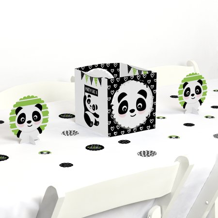 Party Like a Panda Bear - Baby Shower or Birthday Party Centerpiece & Table Decoration Kit