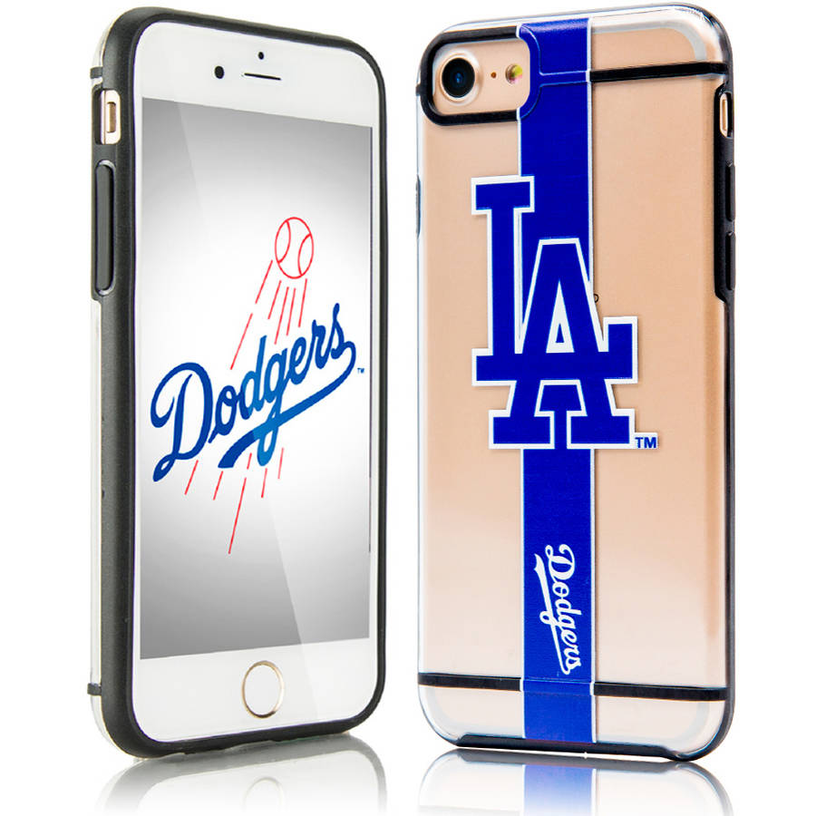 Los Angeles Dodgers Acrylic Clear Case For Apple iPhone 7 Phone