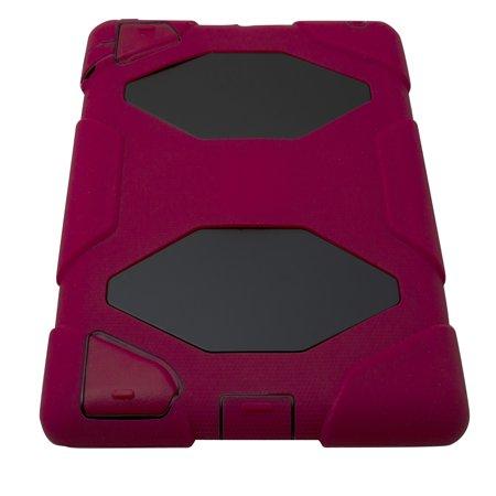 iPad 2/3/4 Heavy Duty Protective Case - Red - image 3 de 4